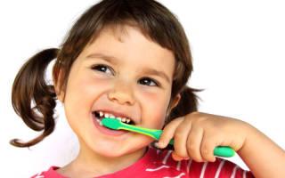 Ультразвуковая детская зубная щетка