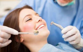 Как делают чистку зубов