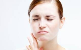 Болит зуб опухла щека