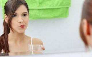 Чем полоскать рот от зубной боли