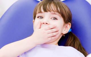 Детская зубная боль