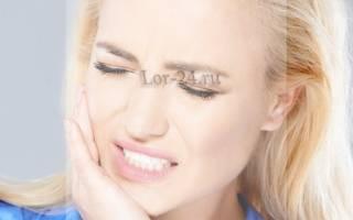 Болит ухо больно открывать рот