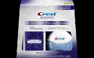 Крест полоски для отбеливания зубов
