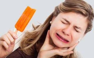 После лечения зуб реагирует на холодное