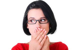 Заболевания языка у человека