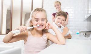 Детская зубная паста с кальцием