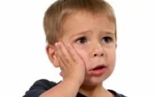 Обезболивающее для детей при зубной боли
