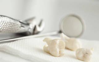 Сколько должна идти кровь после удаления зуба