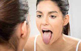 Как вылечить болячку на языке
