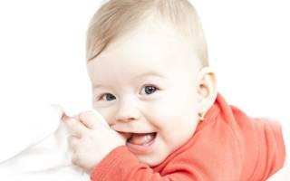 Очередность прорезывания зубов у детей до года